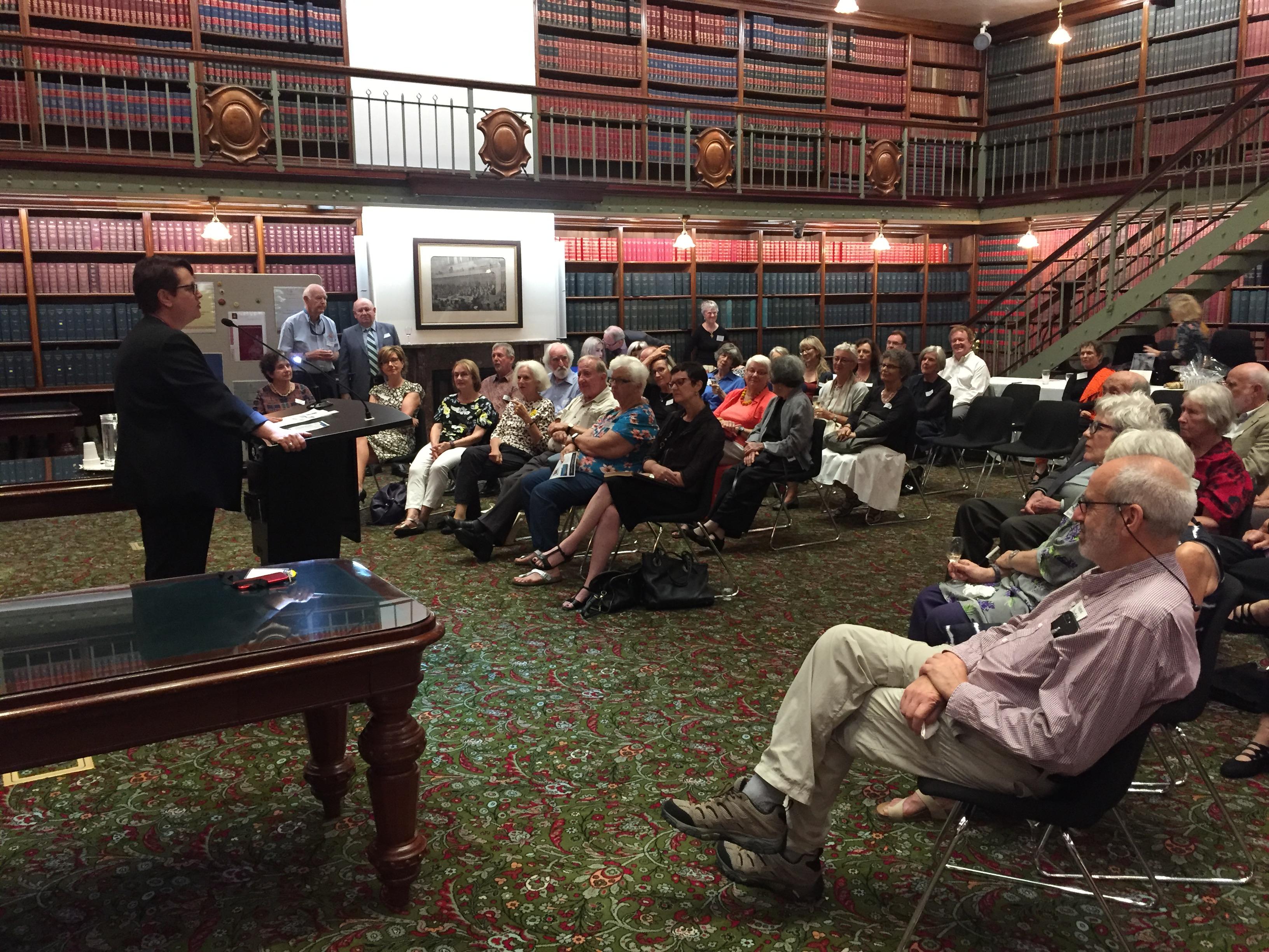 Hon. Penny Sharpe - POSC launch NSW Parliament April 2018