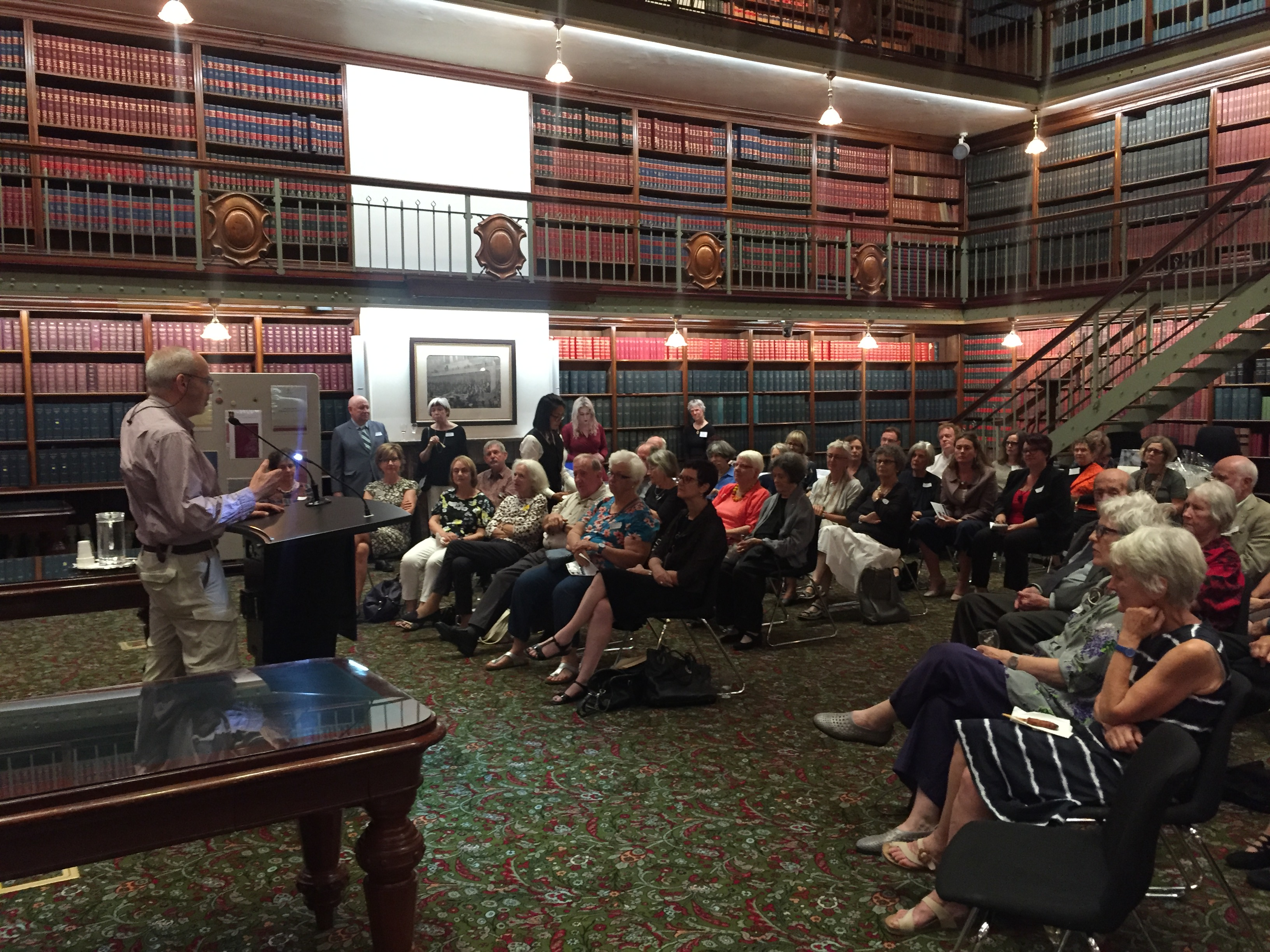 Dr Alex Wodak - POSC launch NSW Parliament April 2018