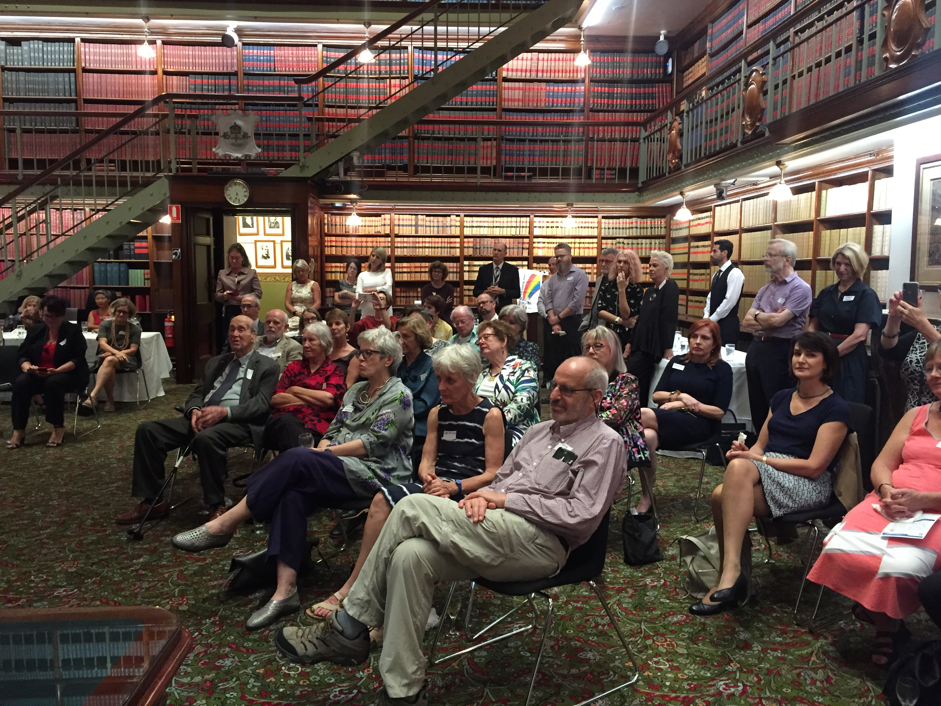 POSC launch NSW Parliament April 2018