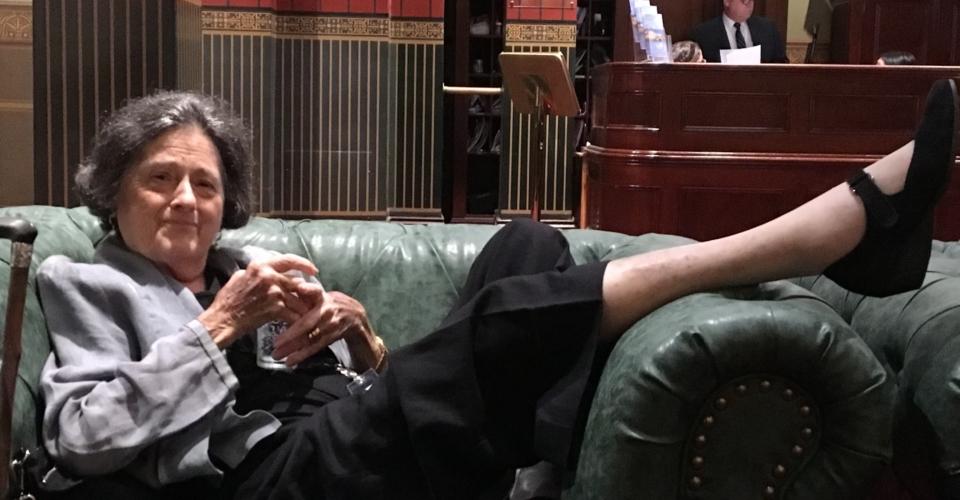 Ann Symonds at the POSC launch NSW Parliament April 2018